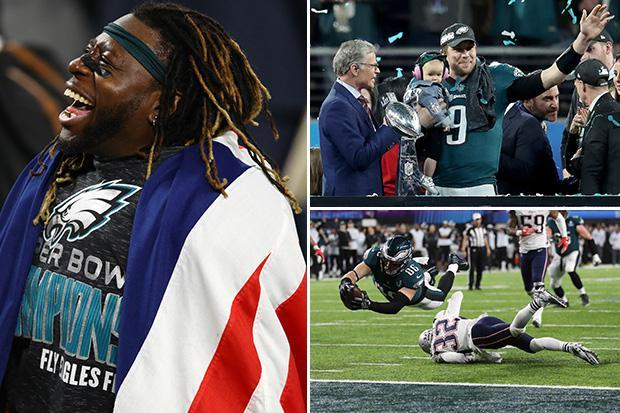 Super Bowl 2018: Jay Ajayi realises dream as Philadelphia Eagles hold off New England Patriots 41-33 in thriller
