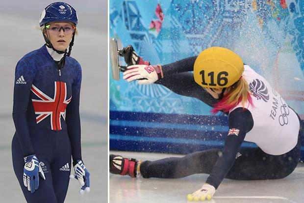 British speed skating star Elise Christie would risk Winter Olympic heartache again rather than settling for silver medal