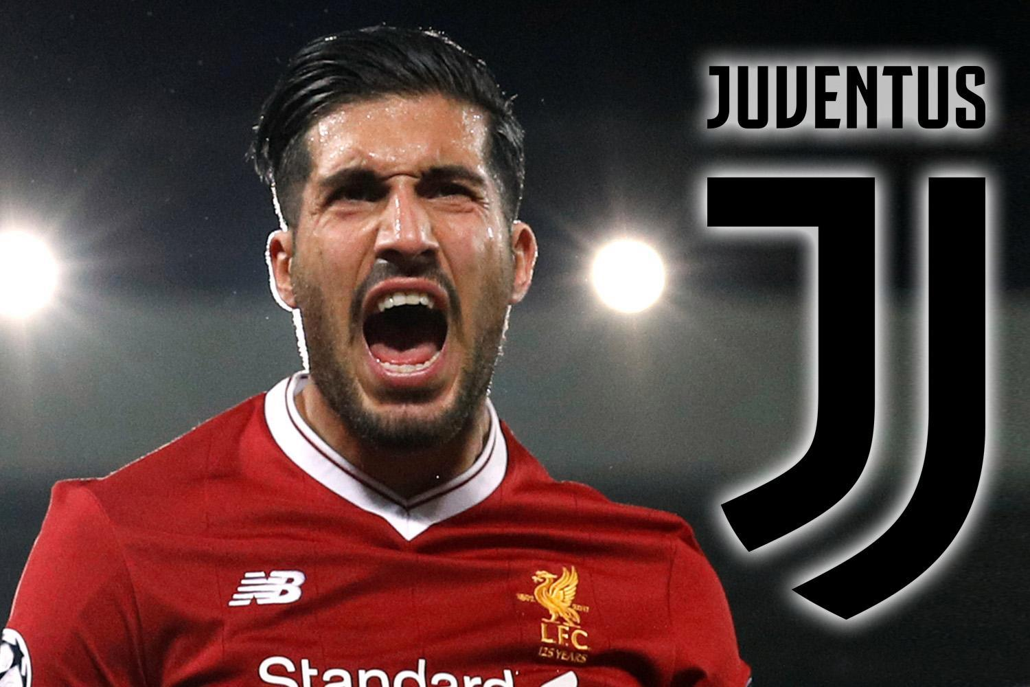 Emre Can's Juventus free transfer from Liverpool is a done deal, according to top football agent who is friends with Antonio Conte