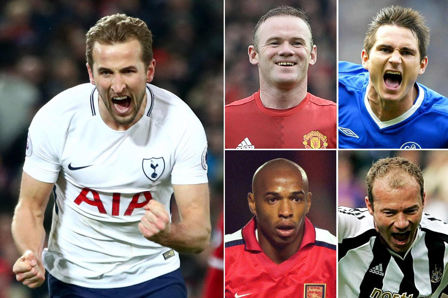 Harry Kane joins an exclusive list of legends to score 100 Premier League goals for one club, as he salvaged draw for Tottenham against Liverpool on Sunday