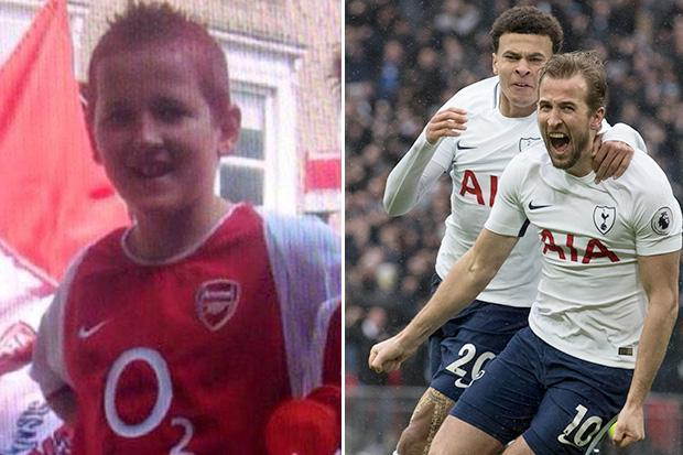 Tottenham's Harry Kane was released by Arsenal as kid because he was 'chubby and not very athletic'