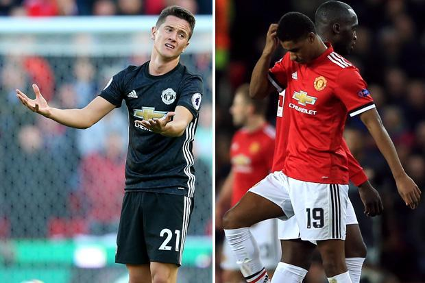 Manchester United blow as Jose Mourinho confirms Marcus Rashford and Ander Herrera miss Newcastle clash due to muscle injuries — and does not know when they will return