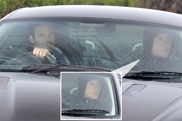 Ander Herrera covers up on way into training as Manchester United ace faces trial over alleged match fixing
