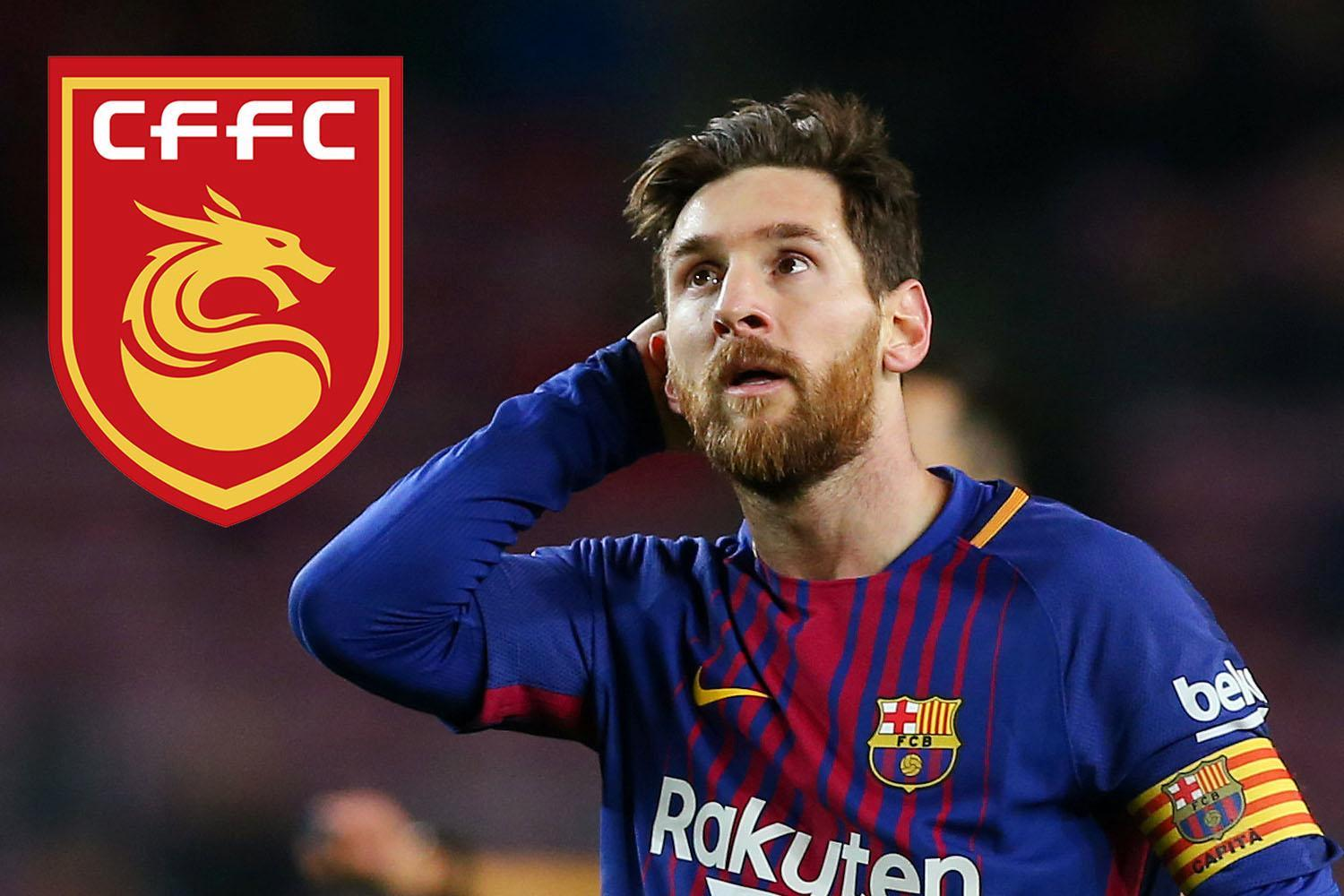 Chinese Super League side Hebei Fortune preparing Lionel Messi bid with signings of Javier Mascherano and Ezequiel Lavezzi — after he rejected £1.7million-a-week contract