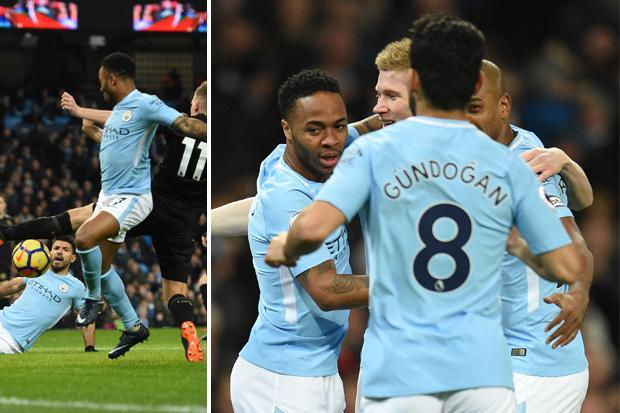 Man City vs Leicester LIVE SCORE: Jamie Vardy cancels out Raheem Sterling's early strike