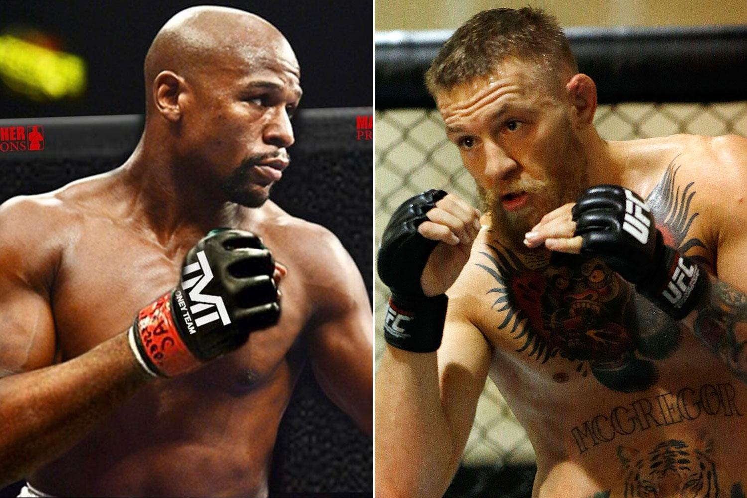 Floyd Mayweather drops huge hints at Conor McGregor MMA fight with latest shots 'from the octagon'