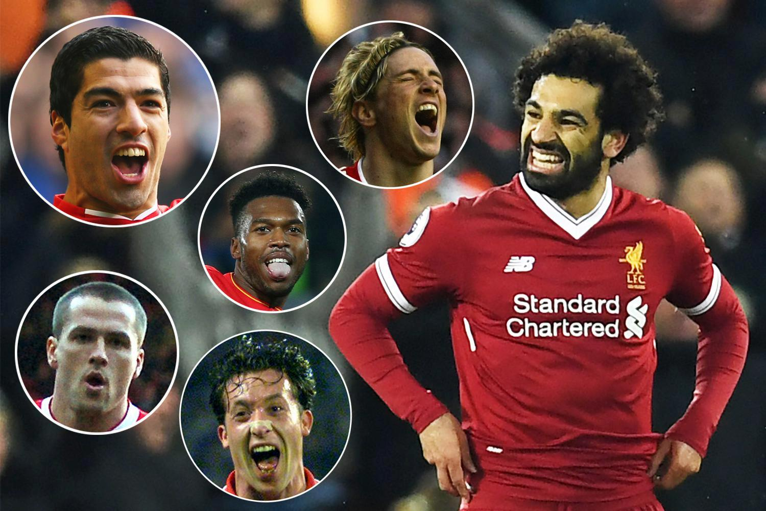 Mohamed Salah the quickest Liverpool player to score 20 Premier League goals in the club's history… beating the likes of Fernando Torres and Daniel Sturridge
