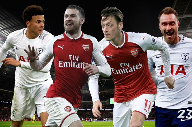 Tottenham vs Arsenal will be won and lost in midfield, with Christian Eriksen and Dele Alli going toe-to-toe with Mesut Ozil and Aaron Ramsey