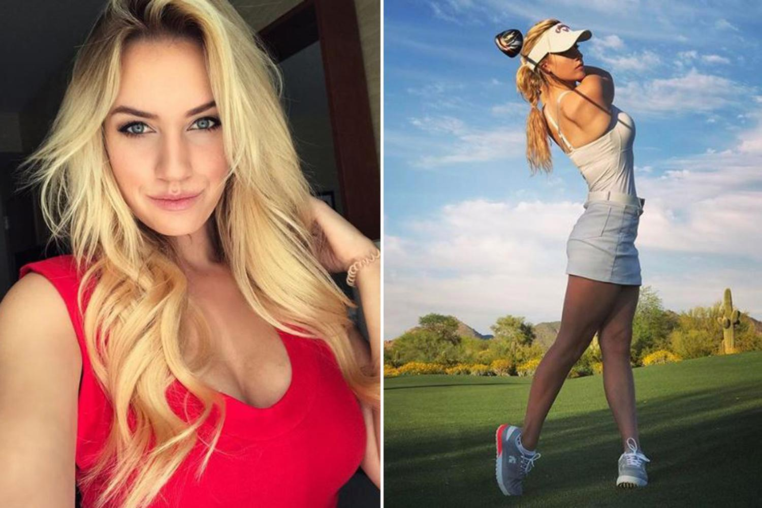 Golfer Paige Spiranac reveals she had death threats and was blackmailed