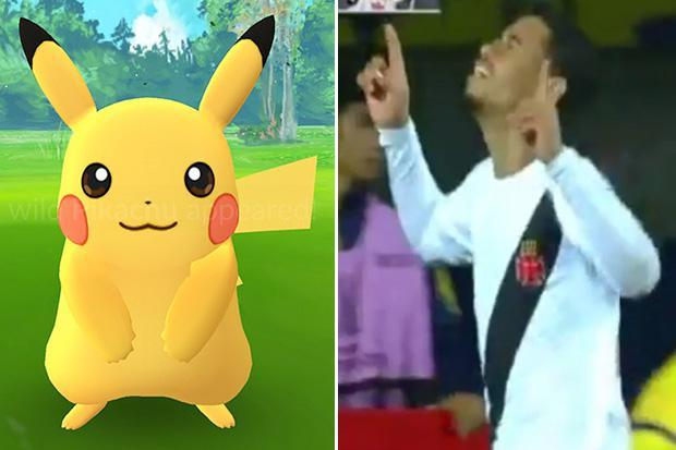Pikachu scores in Copa Libertadores as keeper's howler lets in the poaching Pokemon namesake