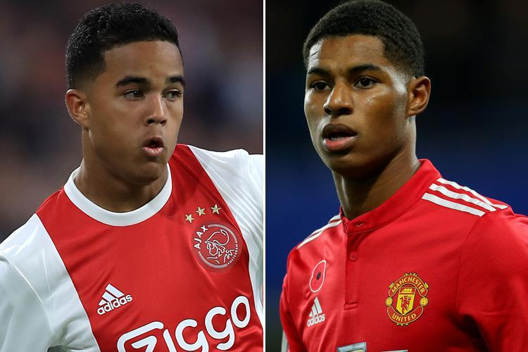 Marcus Rashford 'could be forced to leave Manchester United' if Jose Mourinho signs Ajax wonderkid Justin Kluivert