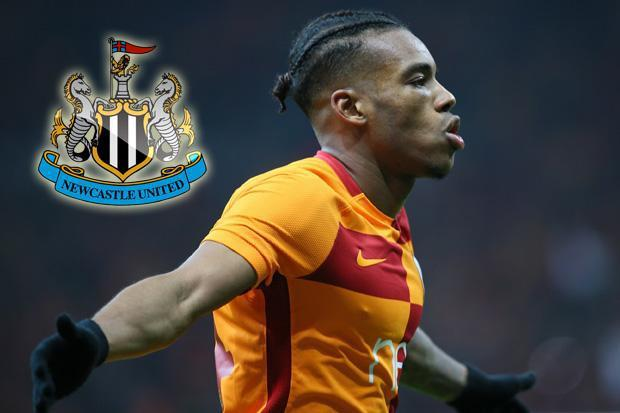 Newcastle boss Rafa Benitez steps up interest in £7m Galatasaray winger Garry Rodrigues