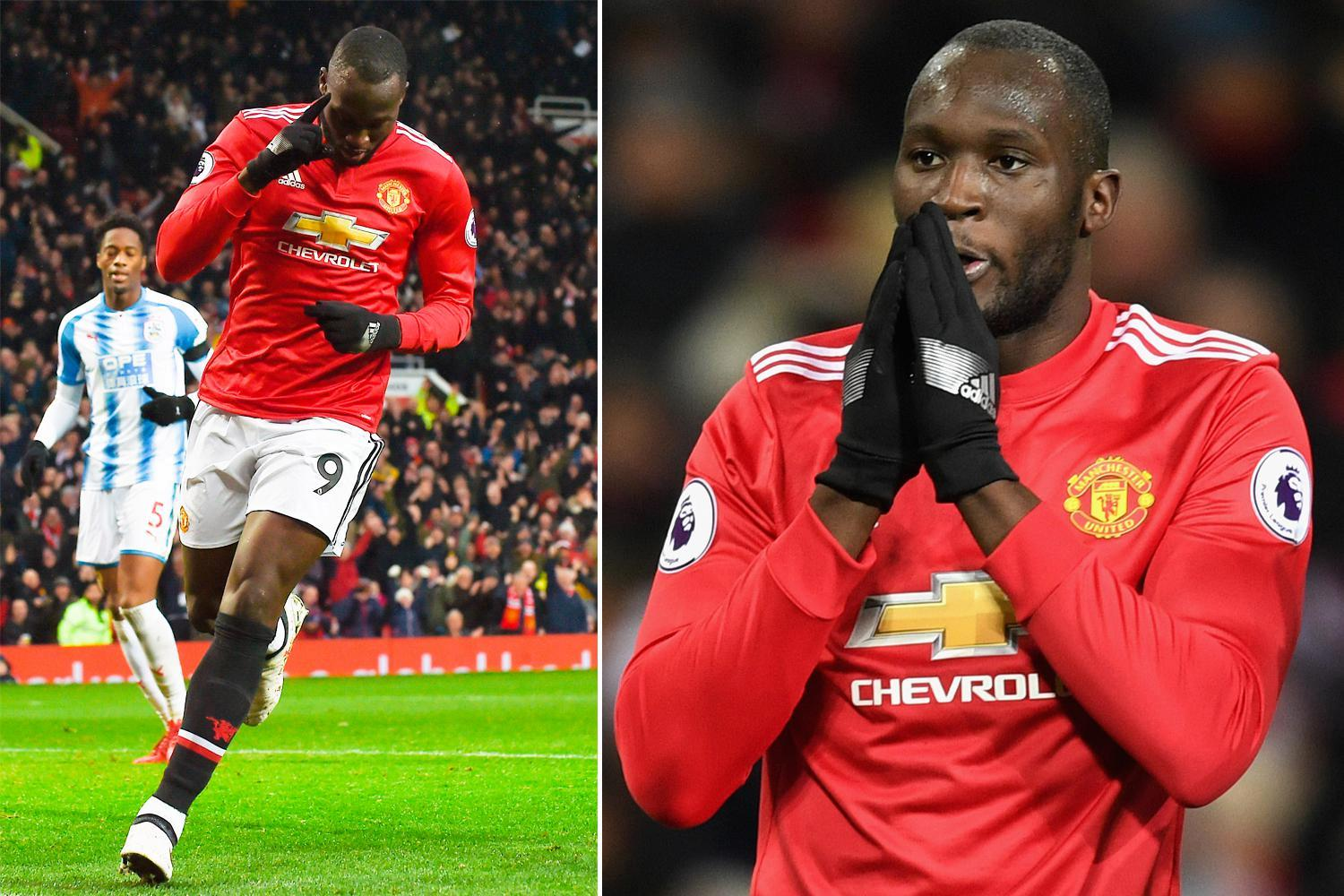 Manchester United star Romelu Lukaku scored his 12th Premier League goal of the season against Huddersfield… but all of those strikes have come against teams outside of the top eight