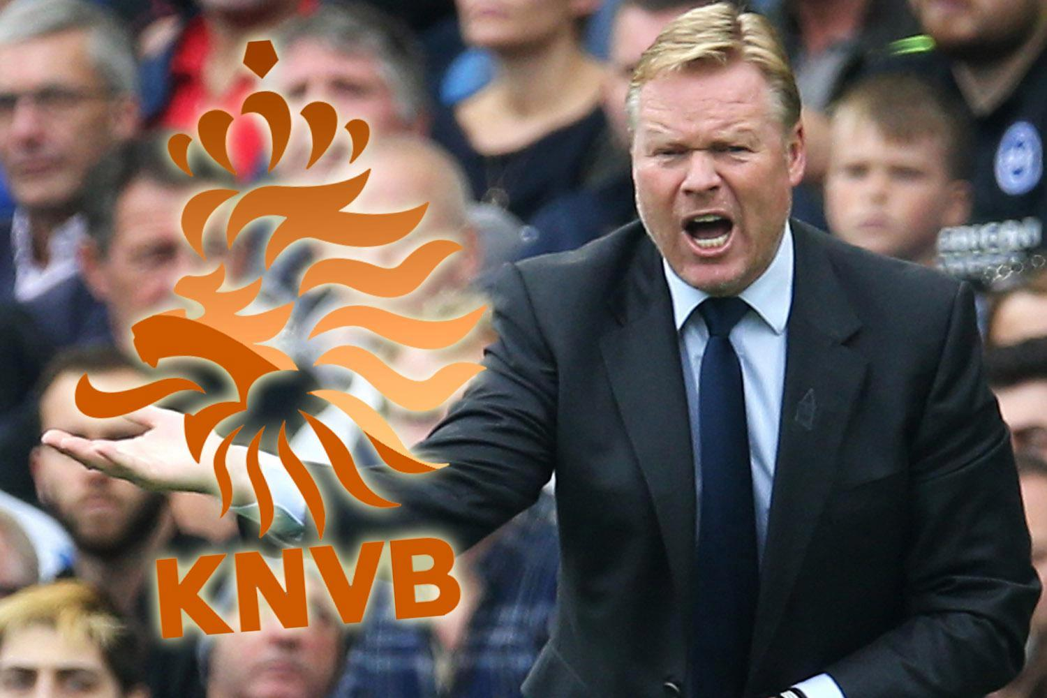 Former Everton boss Ronald Koeman set to be named Dutch national team manager