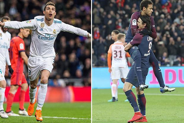 Real Madrid vs PSG: Cristiano Ronaldo vs Neymar just one part of the biggest game of the season ahead of Wednesday's Champions League clash