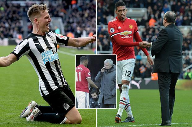 Manchester United were dreadful all over the pitch against Newcastle… but Chris Smalling looked more Maidstone United than England international