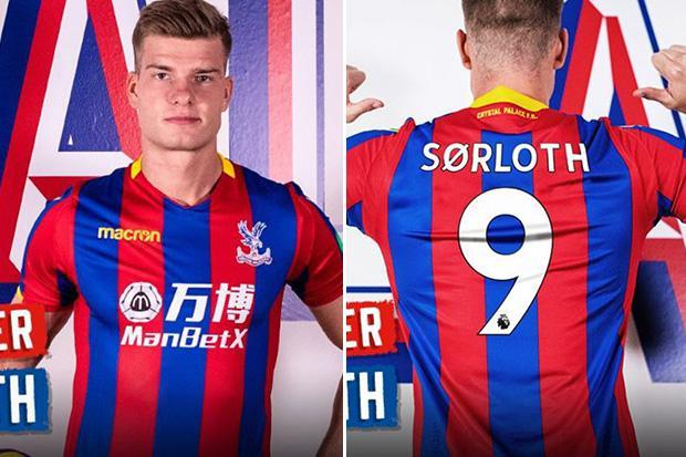 Crystal Palace sign FC Midtjylland striker Alexander Sorloth in £9m deal he says is 'dream come true'
