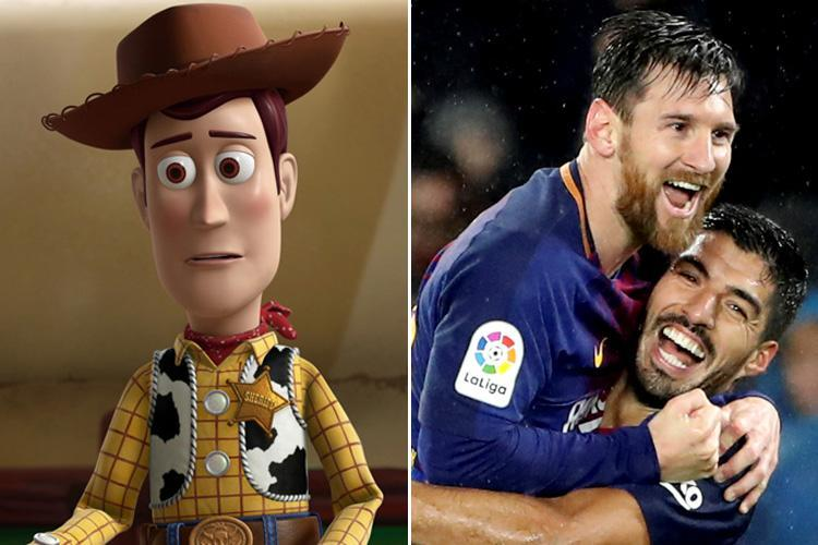 Barcelona 'in talks with Toy Story animators Pixar over feature film involving the club'