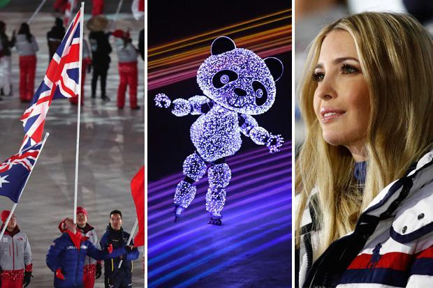 Winter Olympics 2018: Ivanka Trump watches on as Games come to an end with spectacular closing ceremony