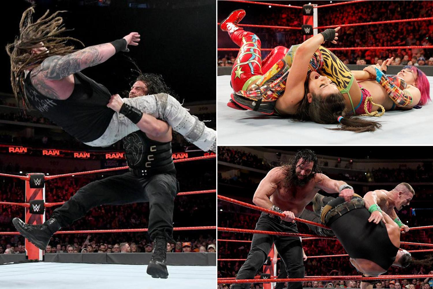 WWE Raw results: Elimination Chamber competitors announced for women's match while Roman Reigns is latest entrant for men