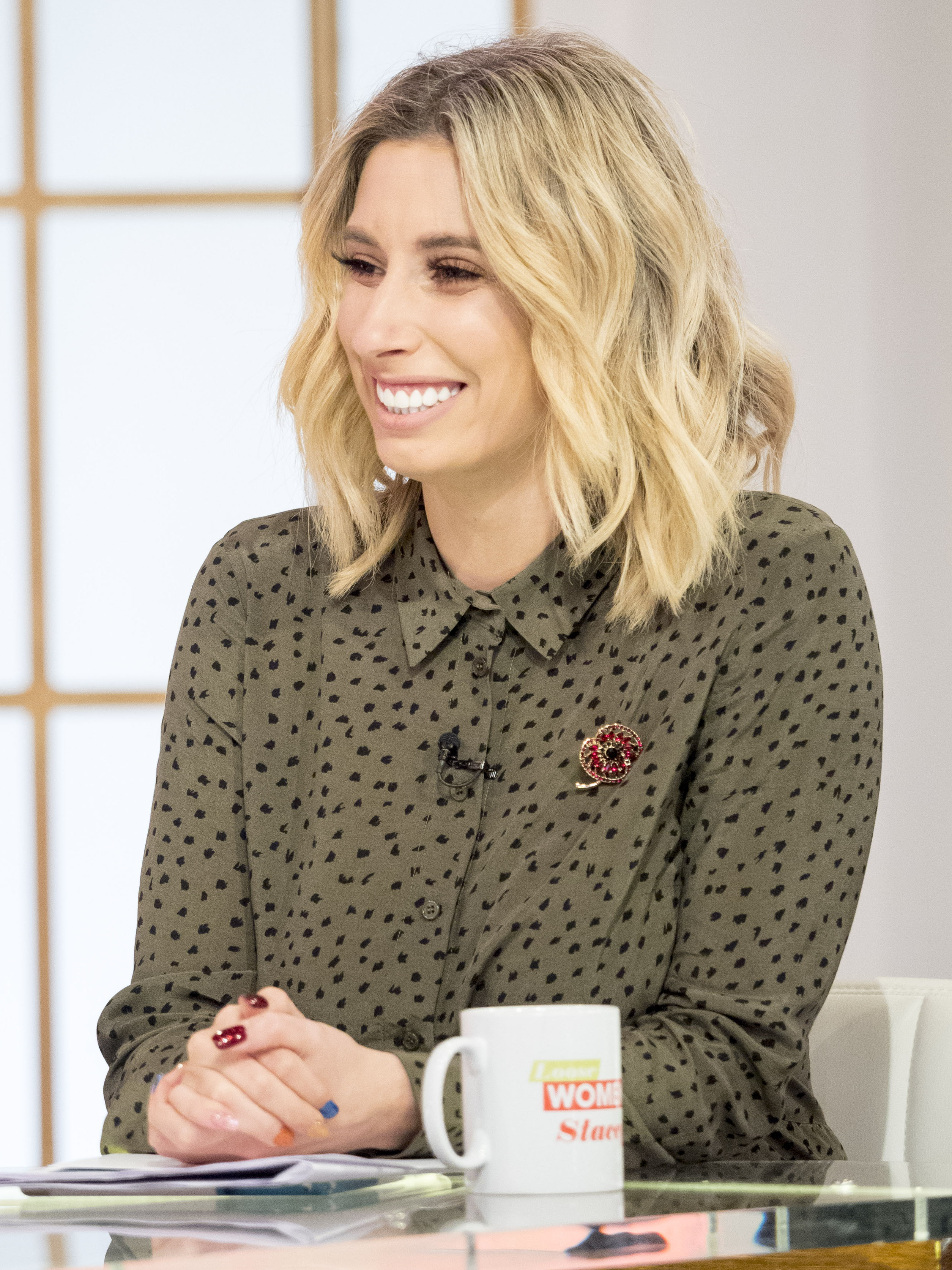 'Spots are so normal!' Stacey Solomon's makeup free pic praised by fans