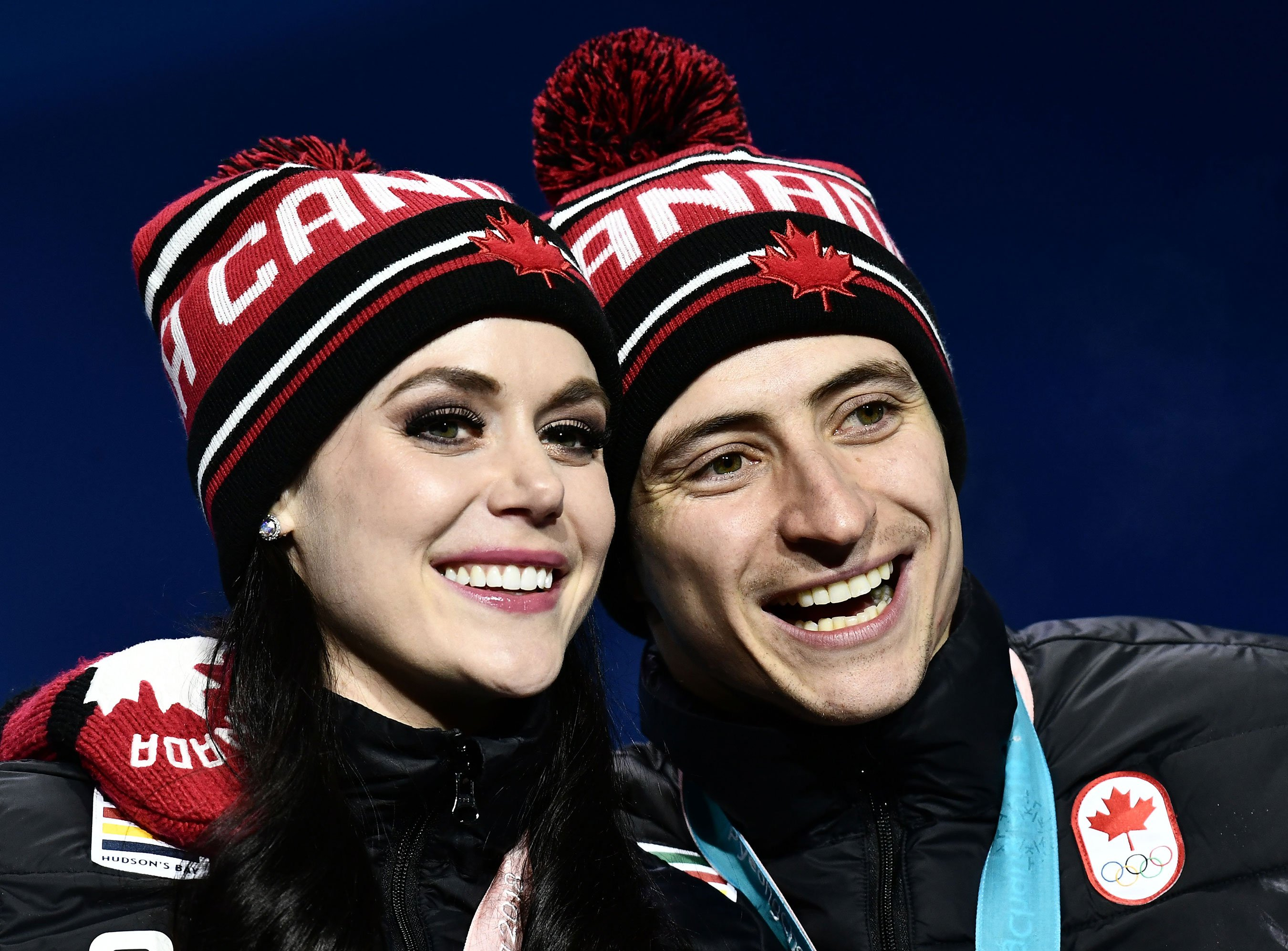 Canadian ice dancers Tessa Virtue and Scott Moir on why they're 'protective' of close bond