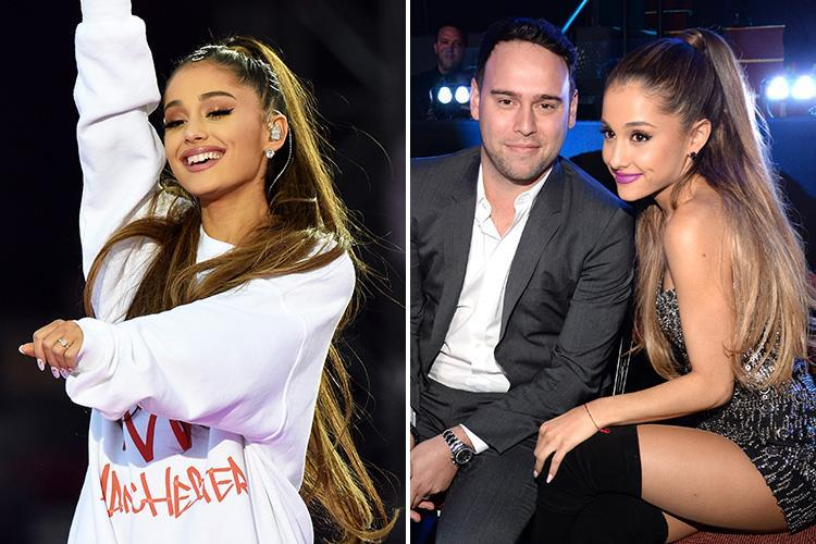 Ariana Grande 'suffered trauma' and 'cried for days after Manchester Arena attack says manager Scooter Braun