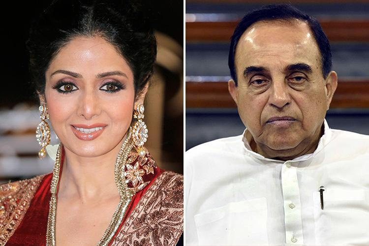 Bollywood star Sridevi Kapoor's death 'looks planned', Indian MP sensationally claims after she was found drowned in a Dubai bathtub