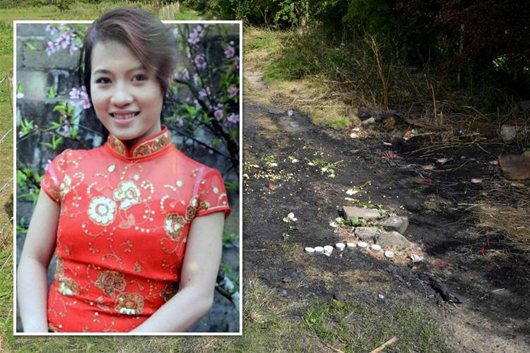 Mum 'raped and burnt alive in her own car by handymen who took a smiling SELFIE to celebrate'