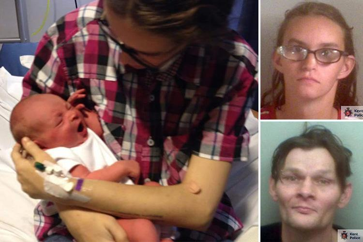 Adoptive mum's battle to jail son's birth parents who swung tot by his ankles so violently he needed both legs amputated