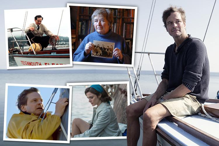 Colin Firth stars in new film as a 'hero' sailor who lied to the world