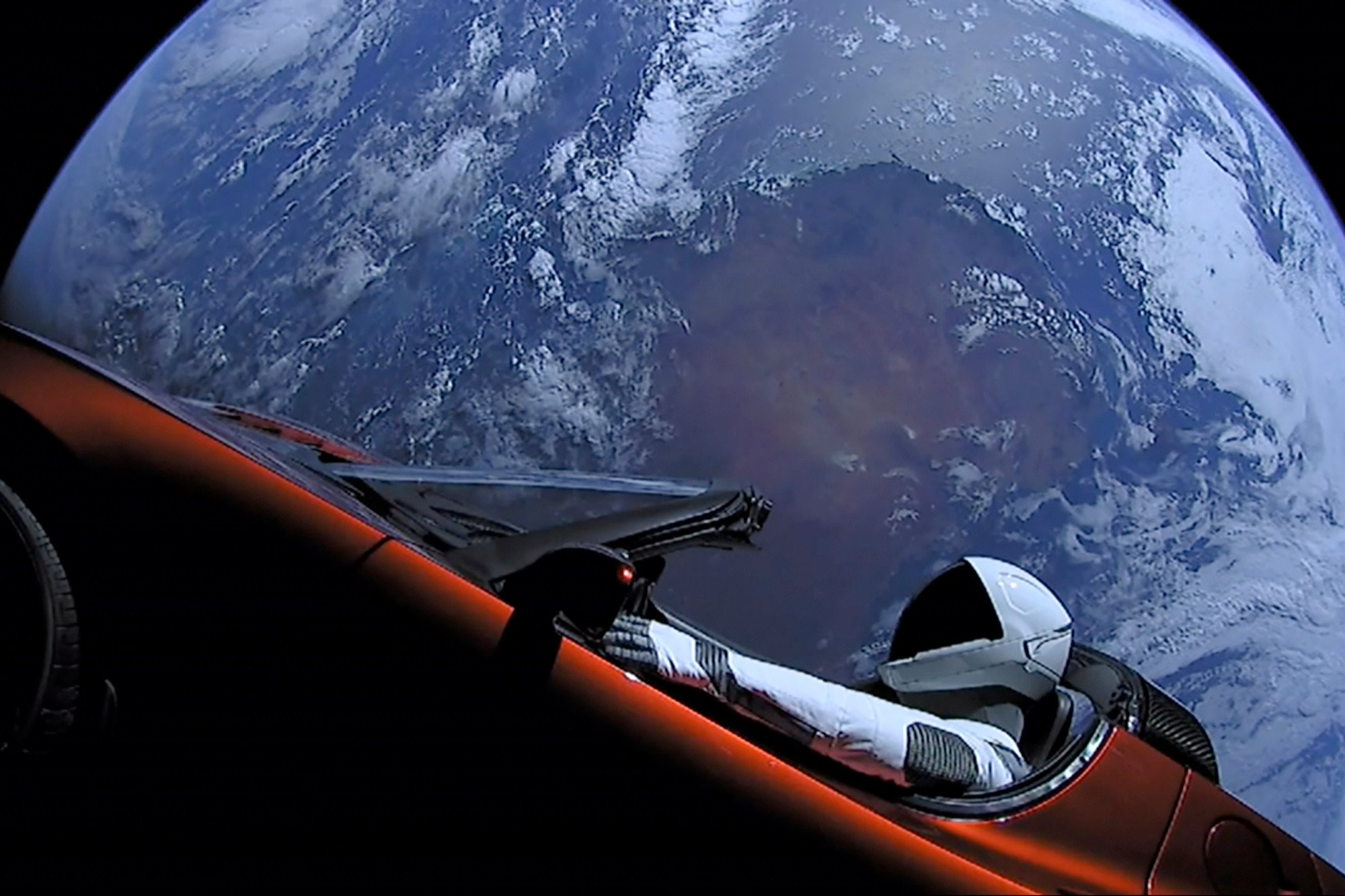 You can track Elon Musk's Tesla as it travels towards Mars