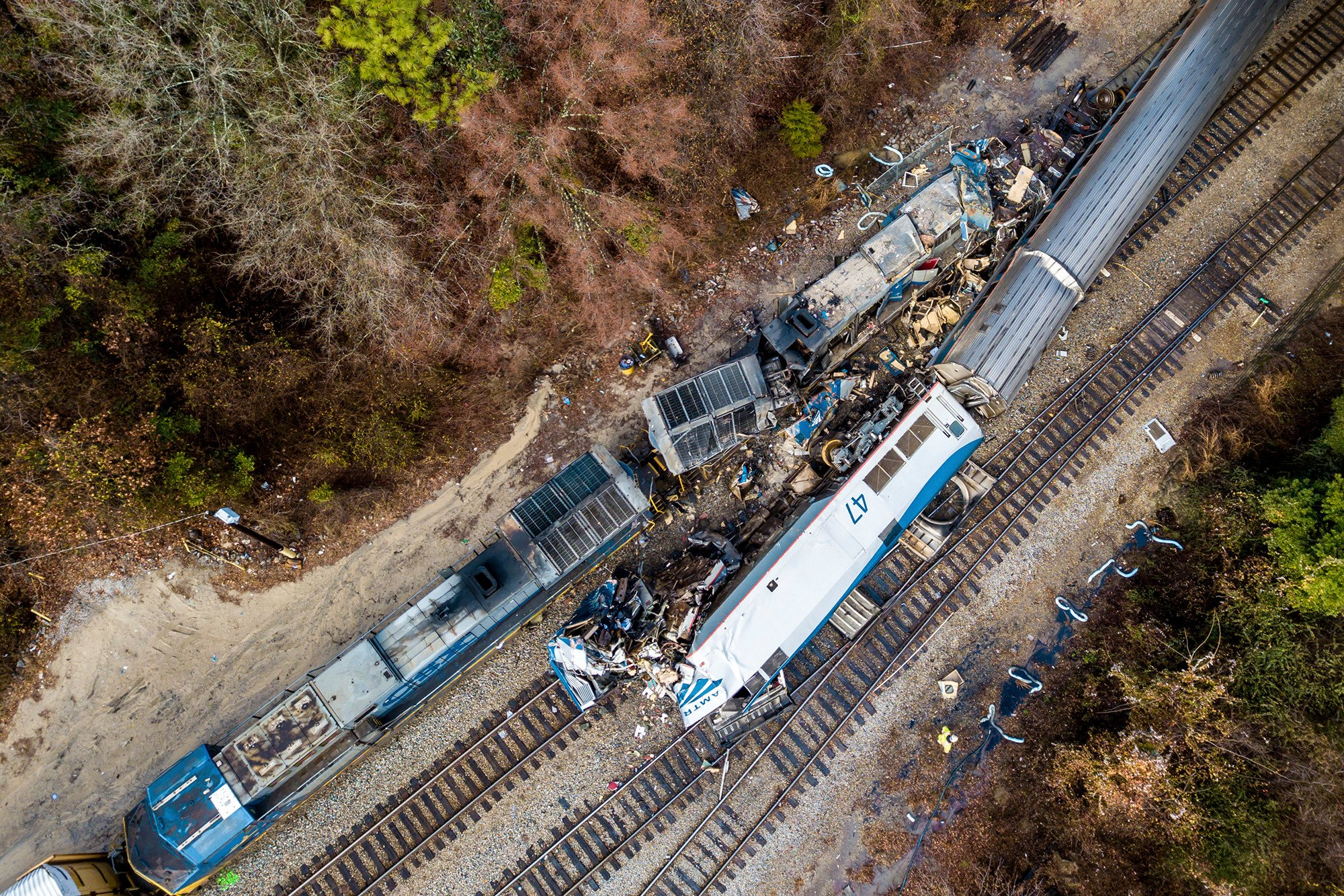 Amtrak conductor killed in crash was worried about rail safety, sister-in-law says