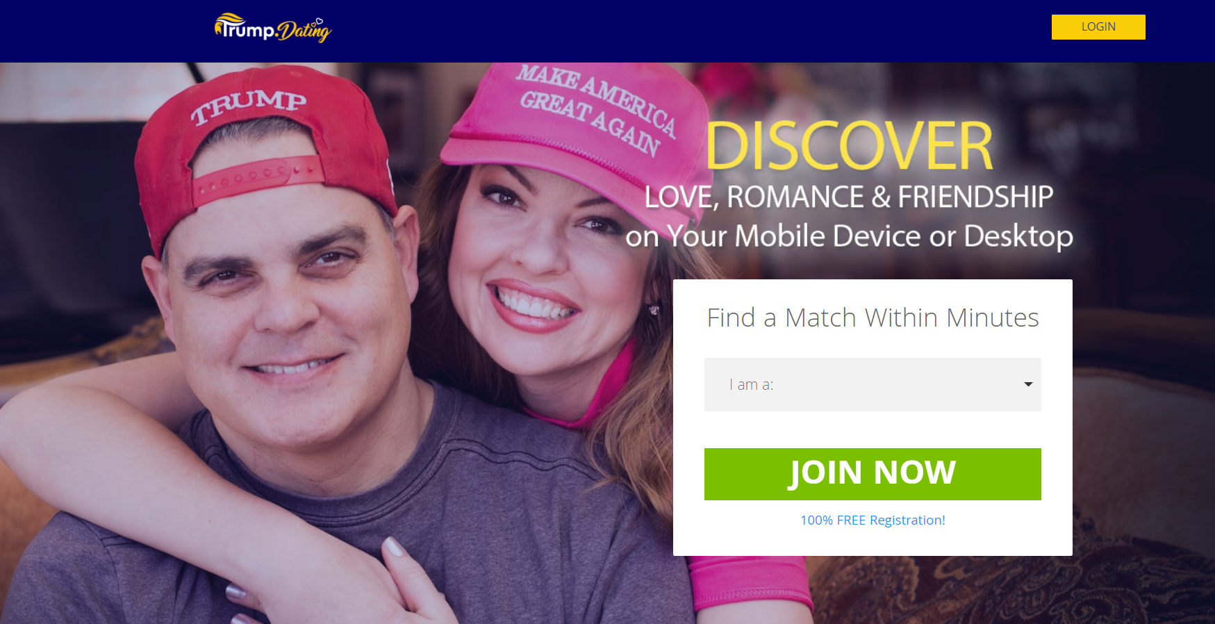 Donald Trump supporters can meet potential partners on new dating website – but it's got one controversial requirement