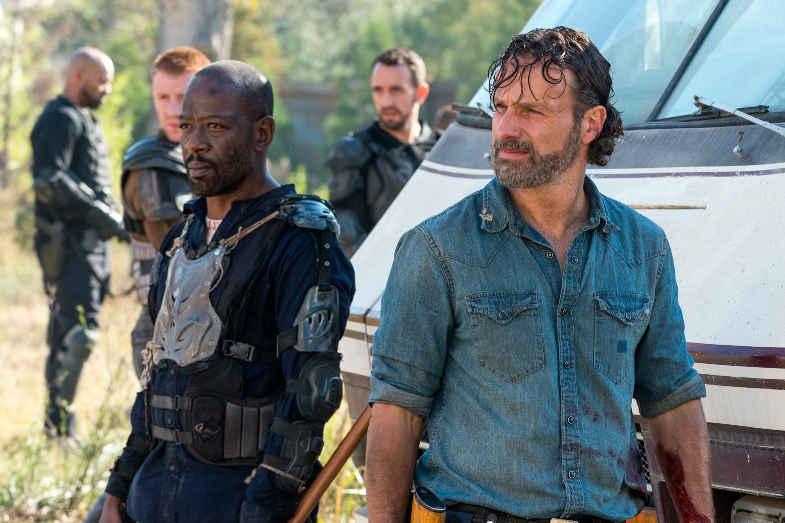 The Walking Dead: Andrew Lincoln on Rick and Morgan after season 8