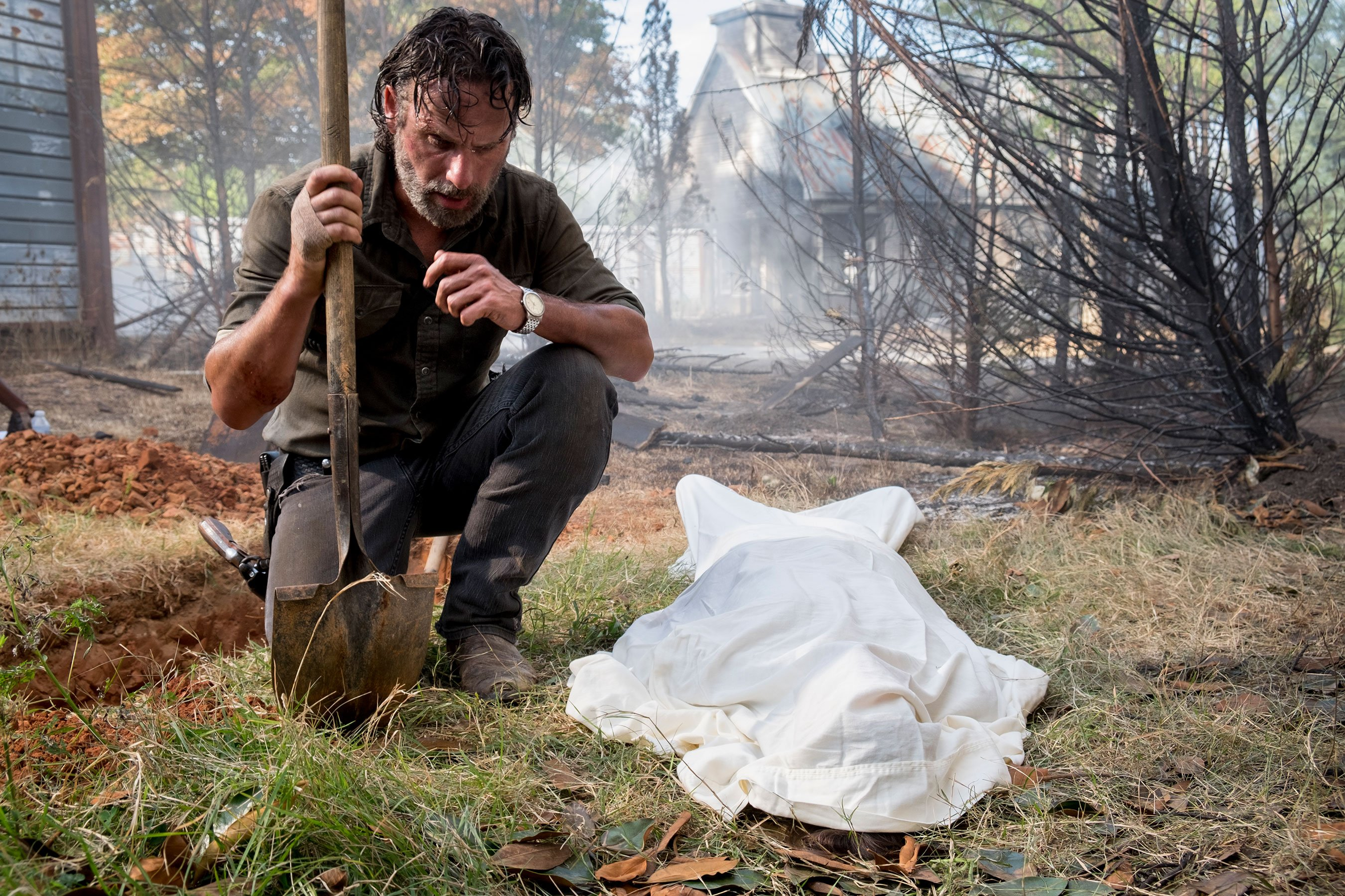 The Walking Dead: Andrew Lincoln on 'unbearable' farewell