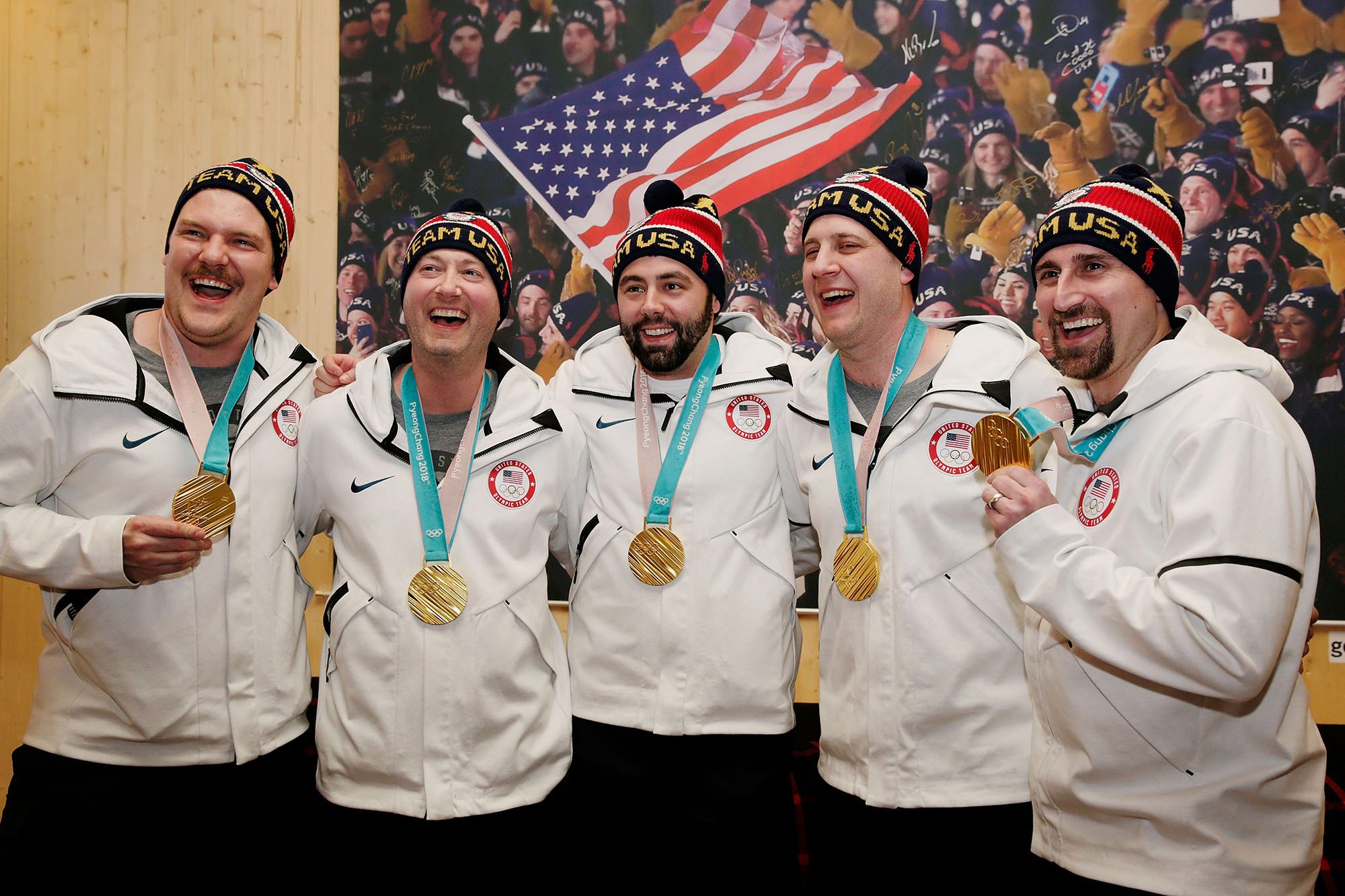 Delta wouldn't upgrade the gold-winning US curling team's seats