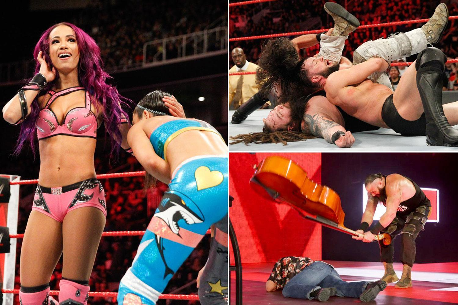 WWE Raw results: Seven men will contest the Elimination chamber while Nia Jax beats down