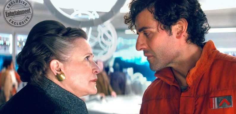 Star Wars: The Last Jedi bloopers reveal Carrie Fisher slapping Oscar Isaac