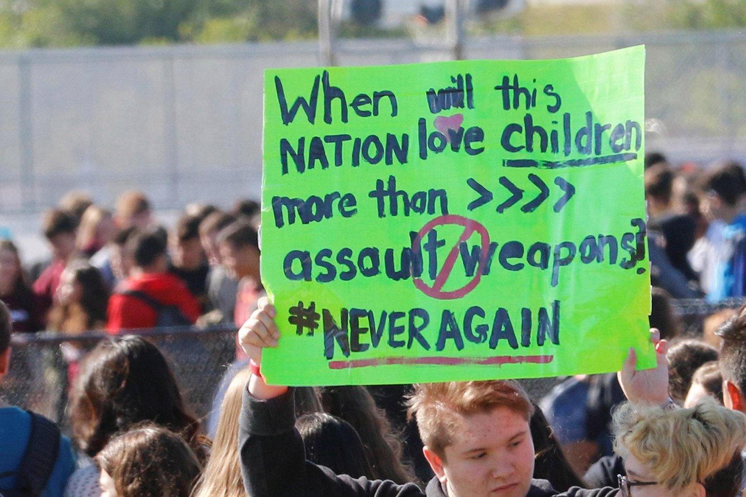 School to suspend students who walked out for gun protest