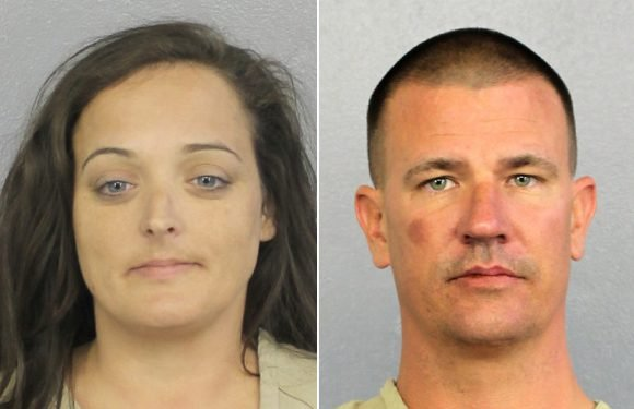 Duo arrested for stealing mementos from Stoneman Douglas memorial