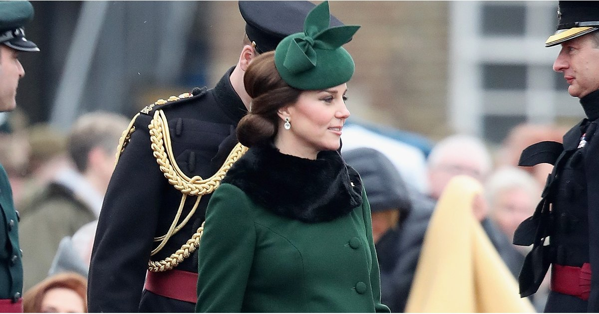 Kate Middleton Doesn't Need Any Luck When She's Wearing This Vibrant Green Coat