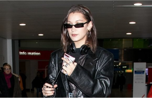 Bella Hadid Tried to Stay Under the Radar, but With These Sneakers? IMPOSSIBLE