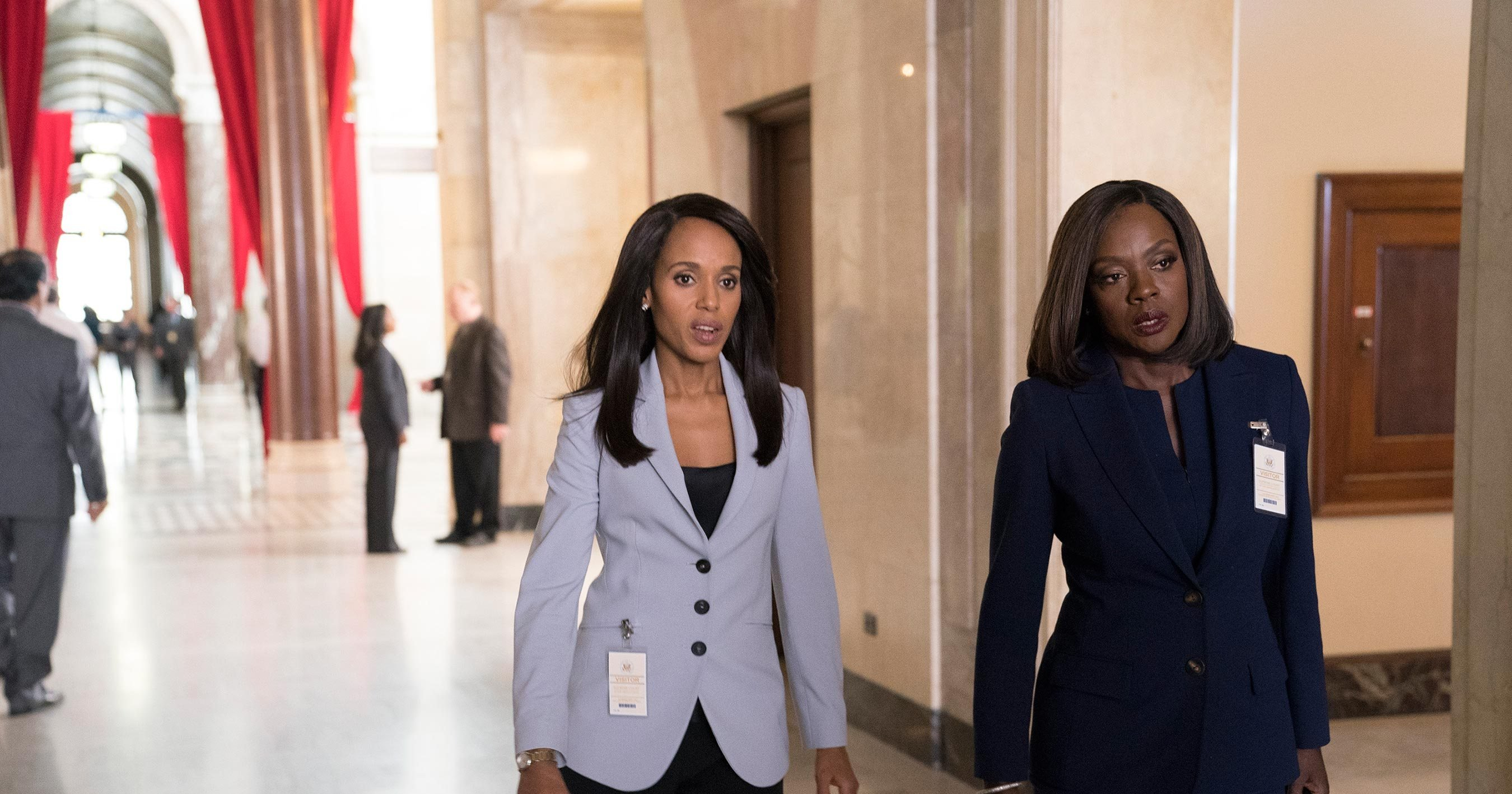 'Scandal' recap: When Olivia Pope and Annalise Keating enter a room, pay attention