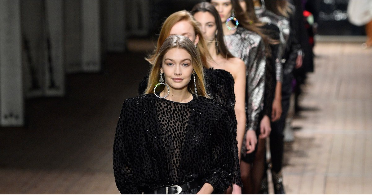 Watch Out, Everyone: Gigi Hadid Led the Pack Down the Isabel Marant Runway
