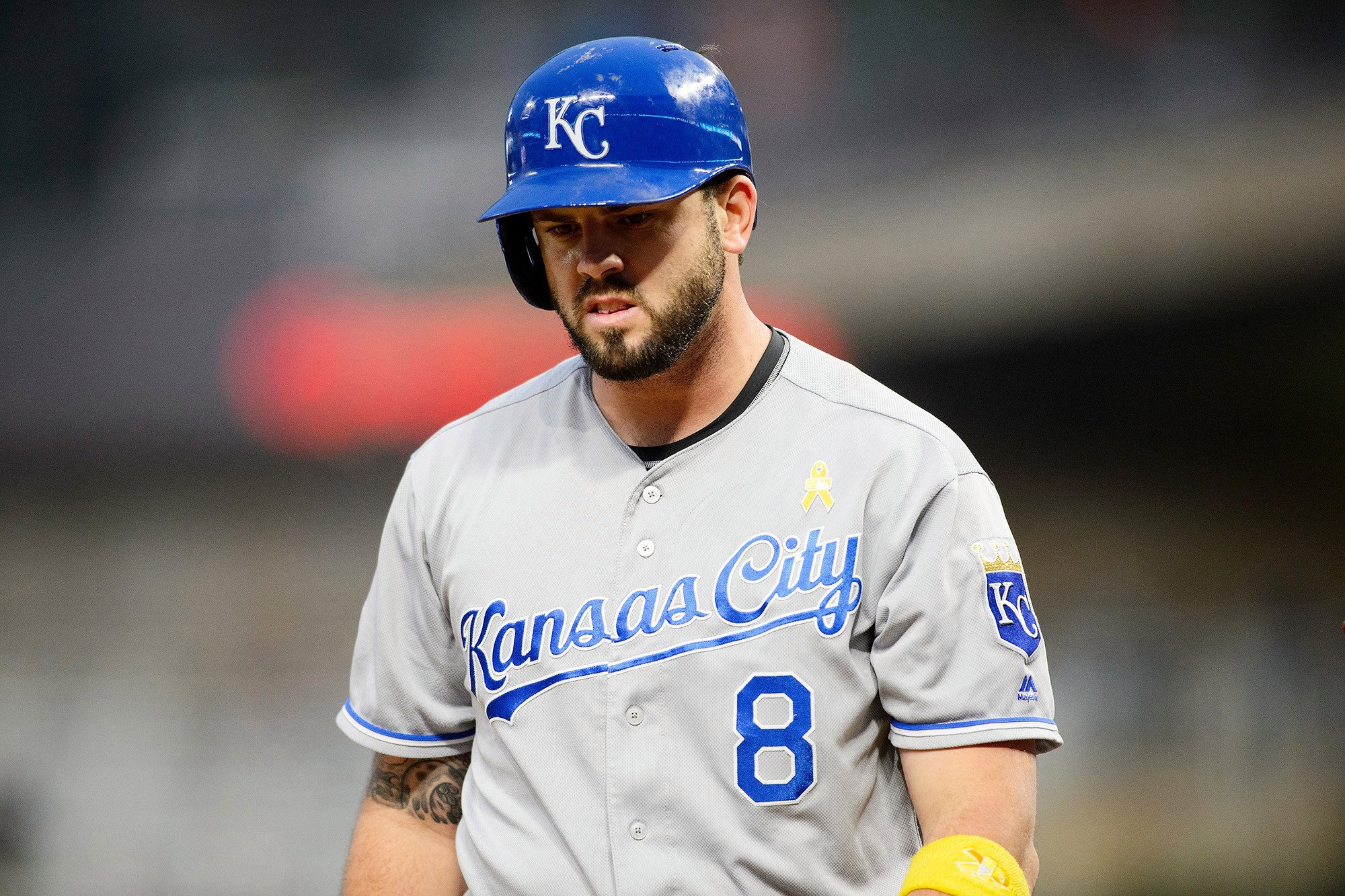 Mike Moustakas lost more than $10 million this offseason