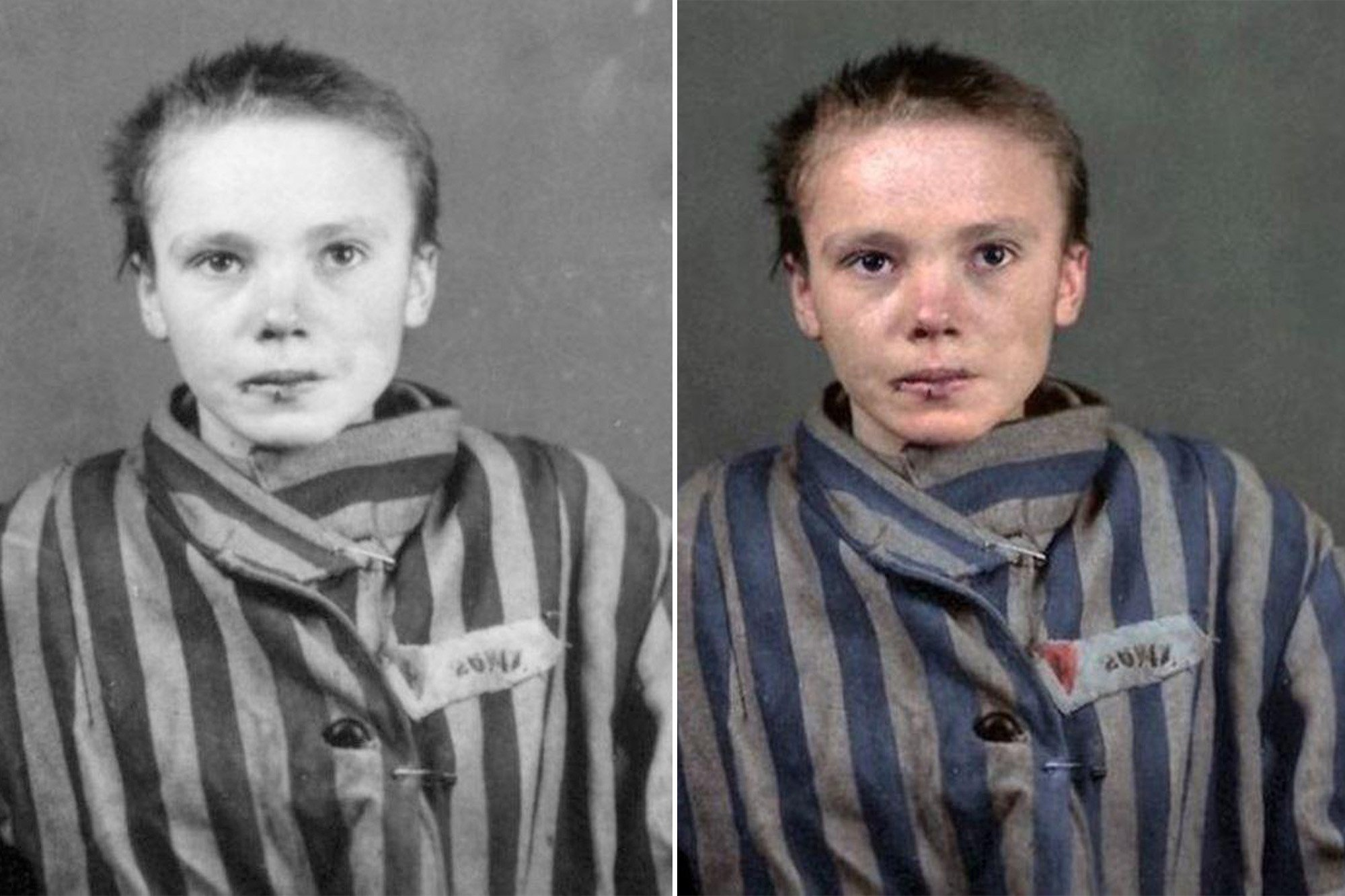 These images from the Holocaust are even more chilling in color