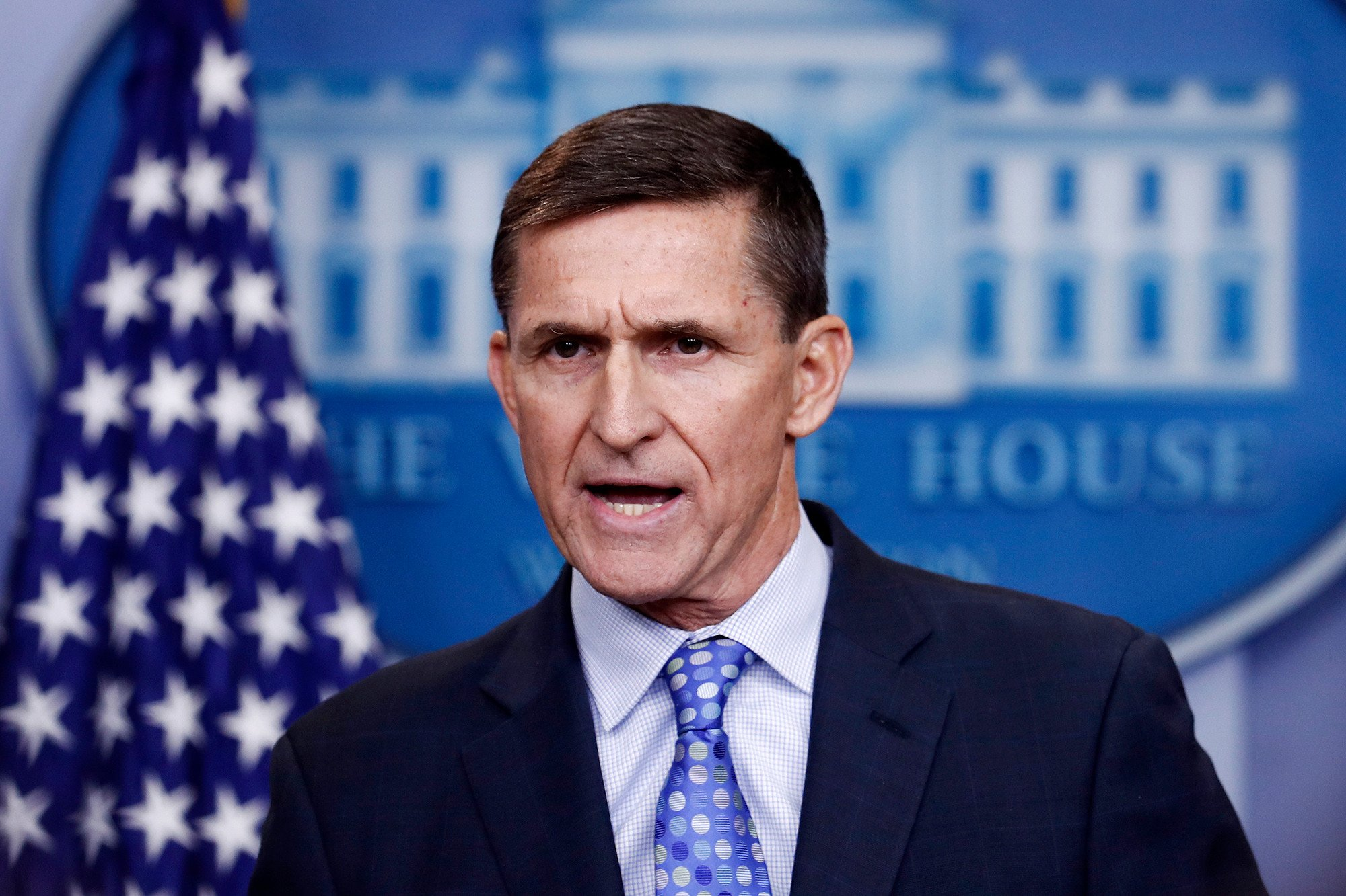 Flynn stumps for congressional candidate in first appearance since guilty plea