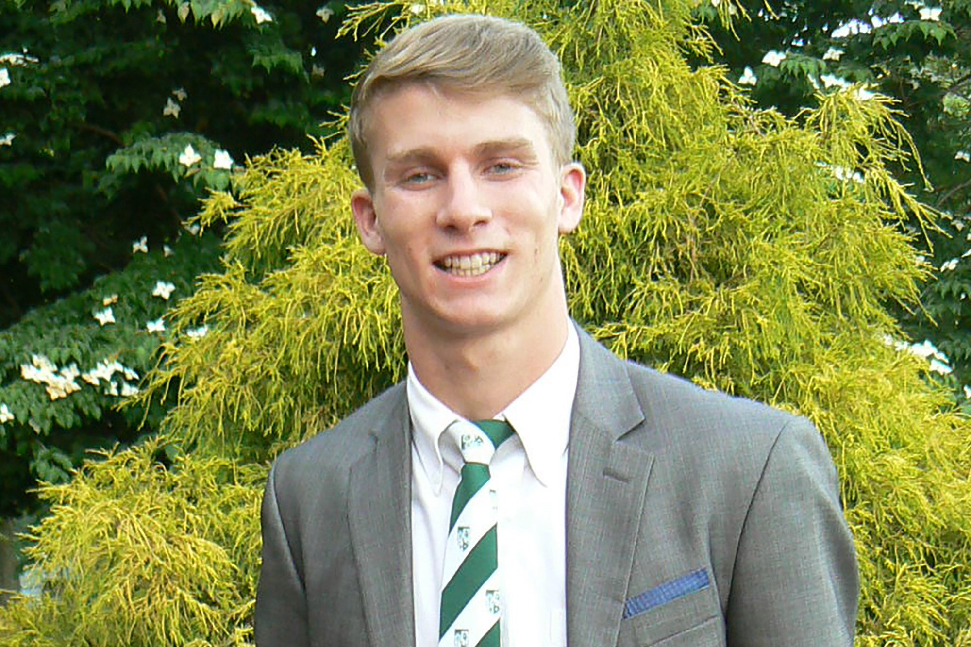 Body of college rugby player found at base of 'significant drop' in Bermuda