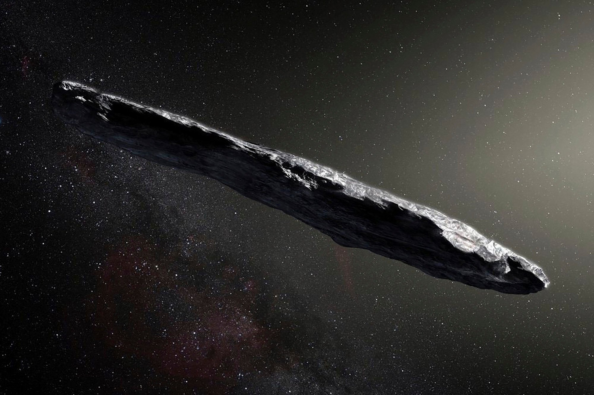 Our first interstellar visitor likely came from two-star system